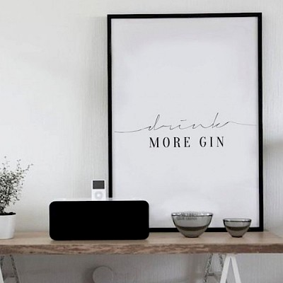 Woonblog Quotes in je interieur - Gin Roomed - Woninginrichting-Aanhuis.nl
